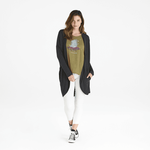 Women's LIG Superpowers Supreme Blend Long Cardigan