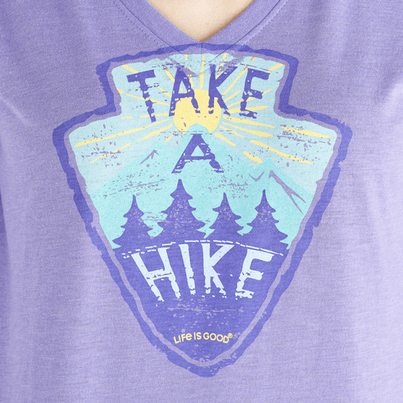 Women's LIG Take A Hike Long Sleeve Cool Vee