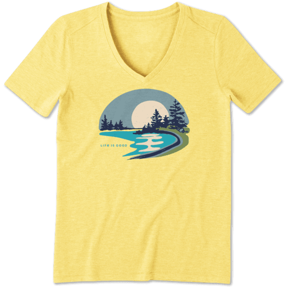 Women's Lake Beach Cool Vee