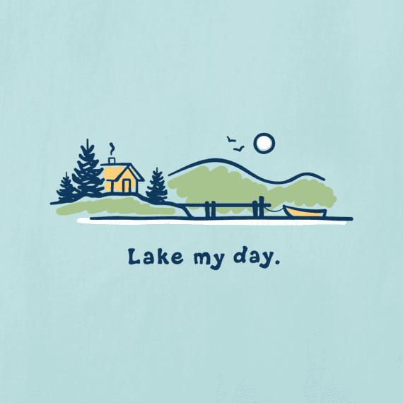 Women's Lake My Day Long Sleeve Vintage Crusher Tee