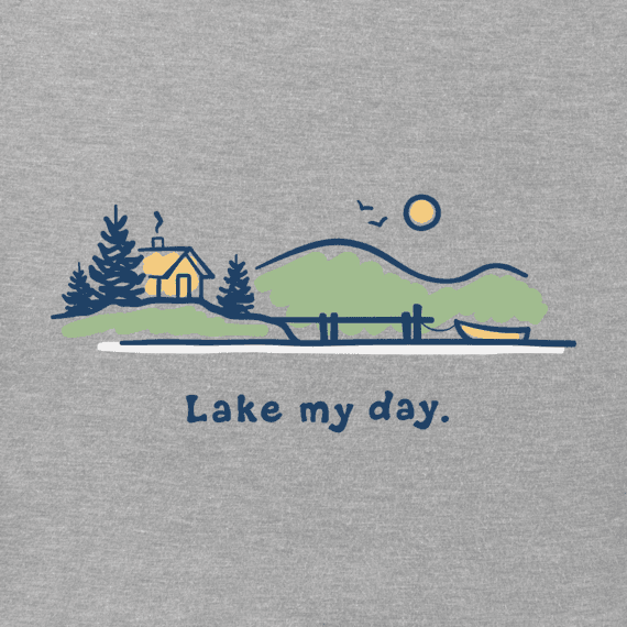 Women's Lake My Day Vintage Crusher Tee