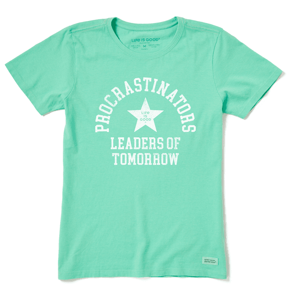 Womens Leaders of Tomorrow Short Sleeve Tee