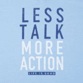 Women's Less Talk More Action Cool Vee