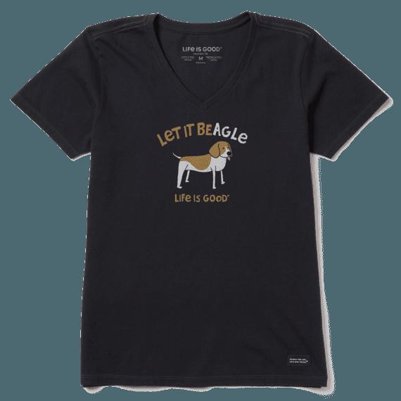 Women's Let It Beagle Crusher Vee