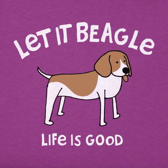 Women's Let It Beagle Crusher Vee