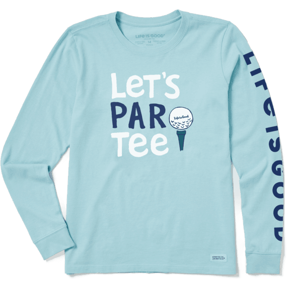 Women's Let's Par Tee Crusher Long Sleeve