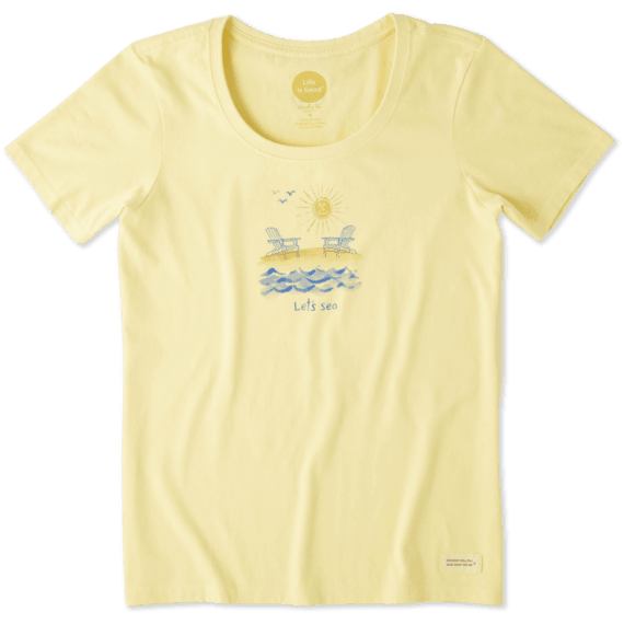 Women's Let's Sea Crusher Scoop Tee