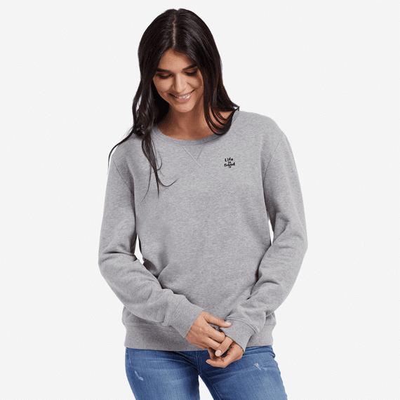 Women's LIG Word Mark Go-To Crewneck Sweatshirt