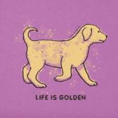 Women's Life Is Golden Crusher Vee