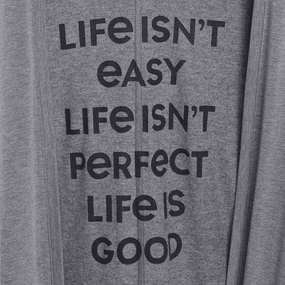 Women's Life Is Good Supreme Blend Long Cardigan