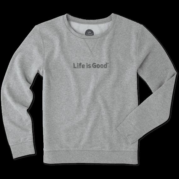 Women's Life is Good Go-To Crew