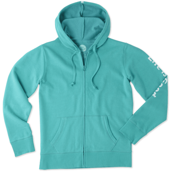 Women's Life is Good Go-To Zip Hoodie