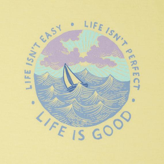 Women's Life isn't Easy Ocean Cool Tee