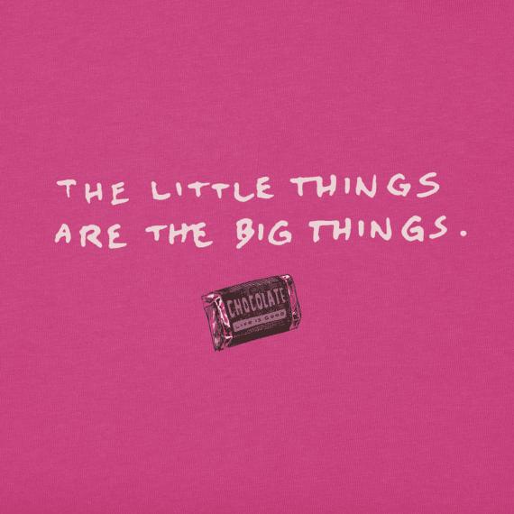 Women's Little Things Chocolate Crusher Vee
