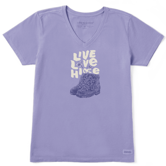 Women's Live Love Hike Crusher Vee