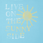 Women's Live On The Sunny Side Crusher Scoop Neck Tee