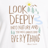 Women's Look Deeply Into Nature Breezy Tee