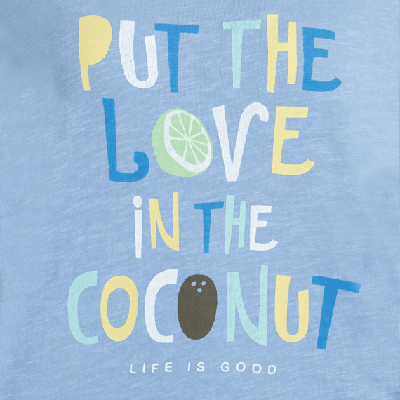 Women's Love In The Coconut Breezy Tank