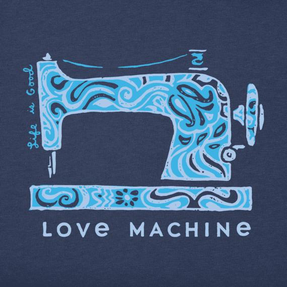 Women's Love Machine Crusher Tee
