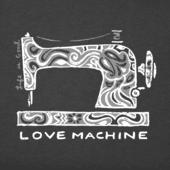 Women's Love Machine Long Sleeve Crusher Tee