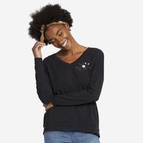 Women's Love Supreme Blend Wide Vee Pullover