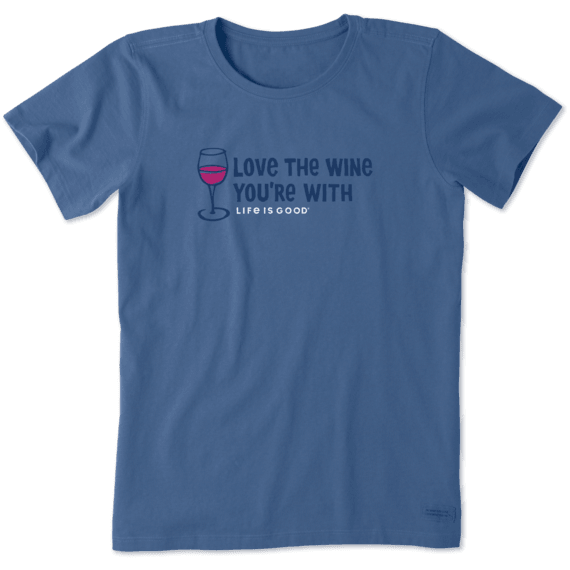 Women's Love The Wine Crusher Tee
