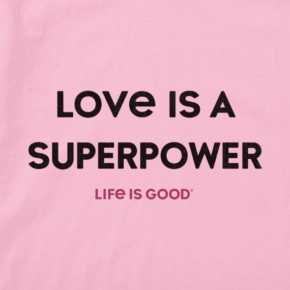 Women's Love is a Superpower Crusher Vee