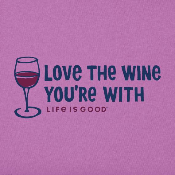 Women's Love the Wine Crusher Vee