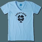 Women's Lucky Dog Crusher Vee
