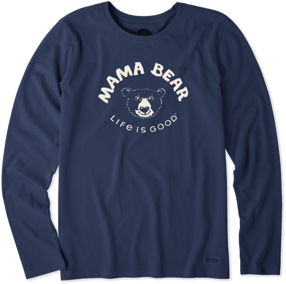 Women's Mama Bear Long Sleeve Crusher Tee