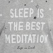 Women's Meditation Snuggle Up Sleep Vee