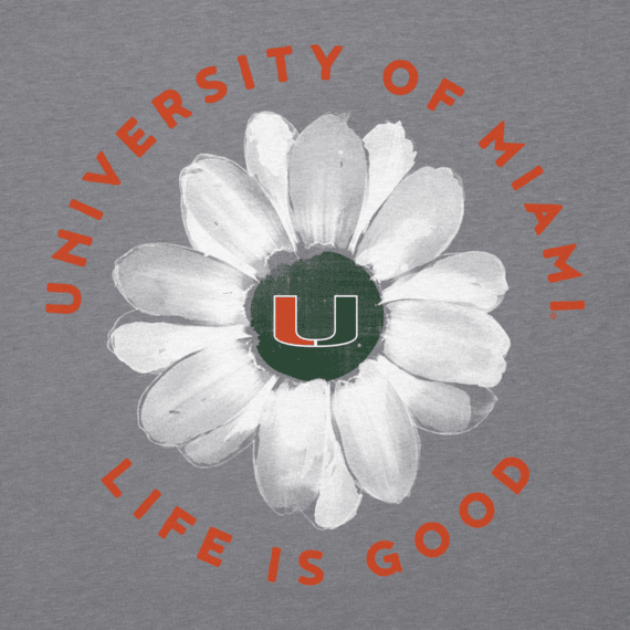 Women's Miami Daisy Long Sleeve Cool Vee