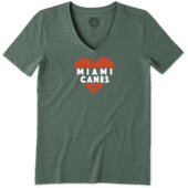 Women's Miami Heart Knockout Cool Vee