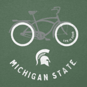 Women's Michigan State Beach Cruiser Cool Vee