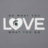 Women's Michigan State Do What You Love Cool Vee