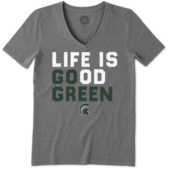 Women's Michigan State LIG Go Team Cool Vee