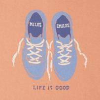 Women's Miles & Smiles Crusher Vee