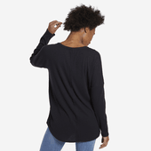 Women's Mini Butterfly Carefree Long Sleeve Pocket Tee