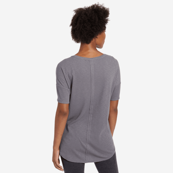 Women's Mini Heart Carefree Pocket Tee