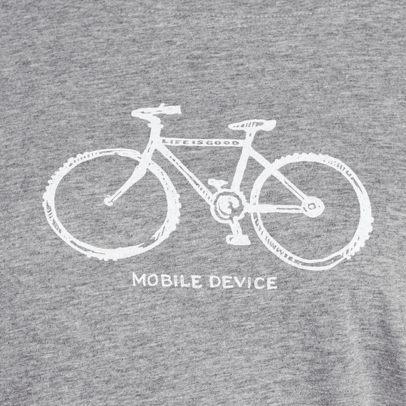 Women's Mobile Device Bike Breezy Tee