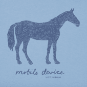 Women's Mobile Device Horse Crusher Vee