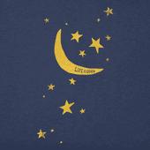 Women's Moon And Stars Crusher Vee