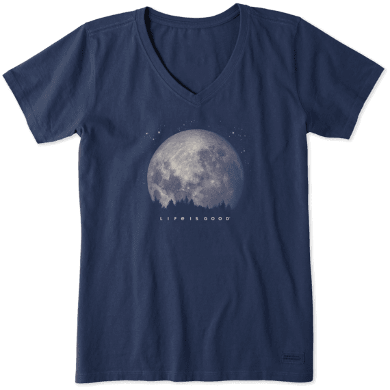 Women's Moon Landing Crusher Vee