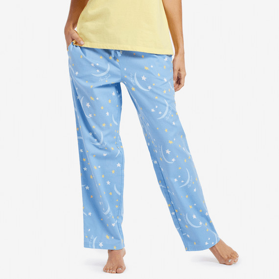 Women's Moon Star Toss Sleep Pants