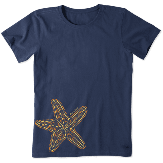 Women's Mosaic Starfish Crusher Tee