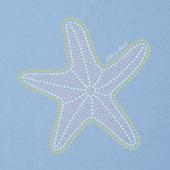 Women's Mosaic Starfish Crusher Vee