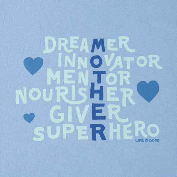 Women's Mother Superpowers Crusher Tee