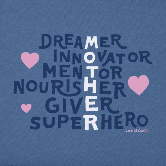 Women's Mother Superpowers Crusher Tee