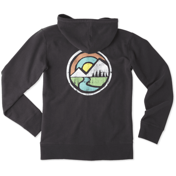 Women's Mountain Circle Go-To Zip Hoodie