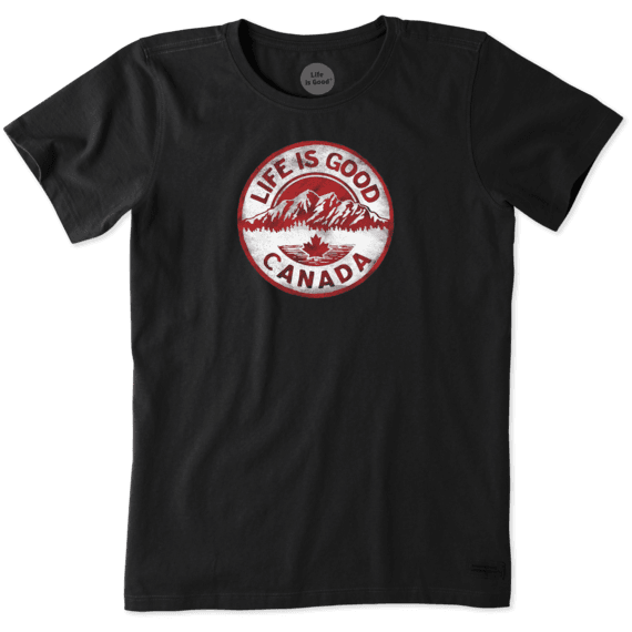 Women's Canada Mountain Coin Crusher Tee